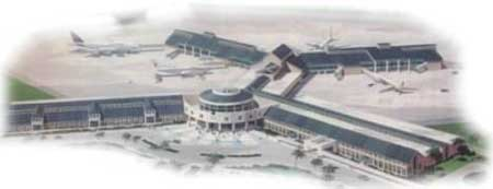 The New Piarco International Airport. Since 25 May 2001