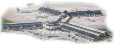 Piarco International Airport Trinidad West Indies